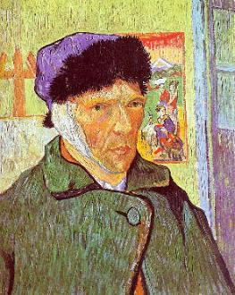 Self Portrait of Vincent Van Gogh With Ear Injury