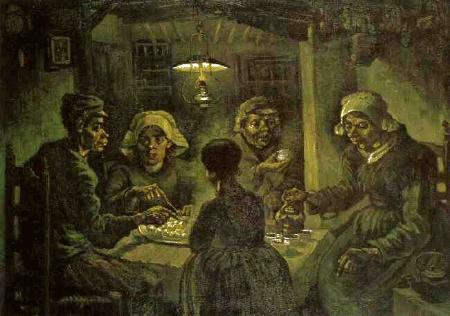 Potatoe Eaters by Vincent Van Gogh