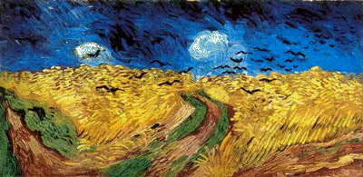 Wheat Field With Crows by Vincent Van Gogh